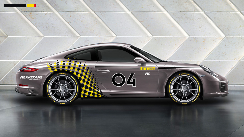 Edgy and Cheesy Porsche Art Car Design Designbüro München