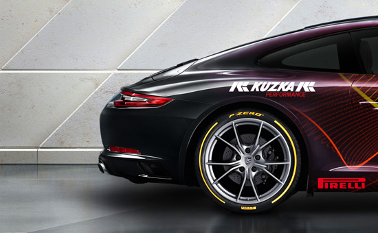Edgy and Cheesy Porsche Art Car Design